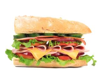 Fresh sandwich.