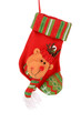 Decorative christmas sock with deer.