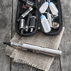 e-cigarette on table