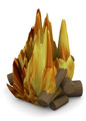Campfire - 3D