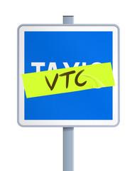 Panneau VTC