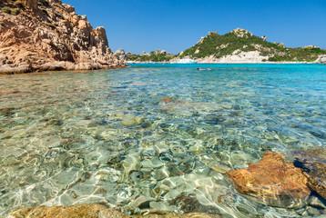 Cala Corsara bay in Sardinia