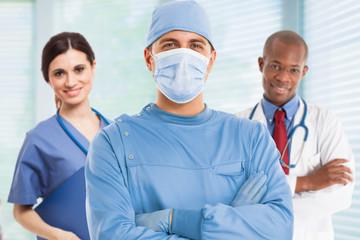 Surgeon portrait
