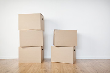 Moving Boxes in an Empty Room