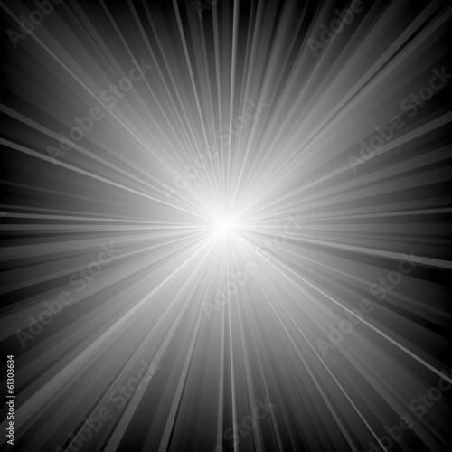 Fotobehang Licht, schaduw Rays Of Light