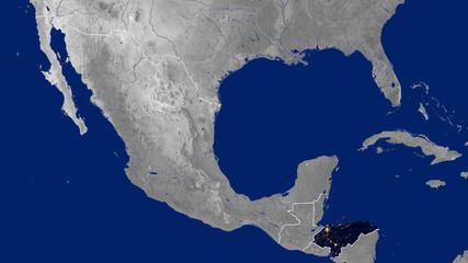 Honduras - Night