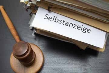 Steuer Recht - Urteil Selbstanzeige