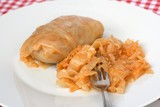 Traditional Serbian dish called sarma