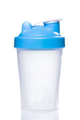 Empty protein shaker