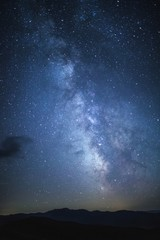 Milky Way and Carpathians.