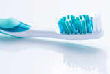 Toothbrush over white surface