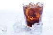 Glass of fresh coke - 61313846