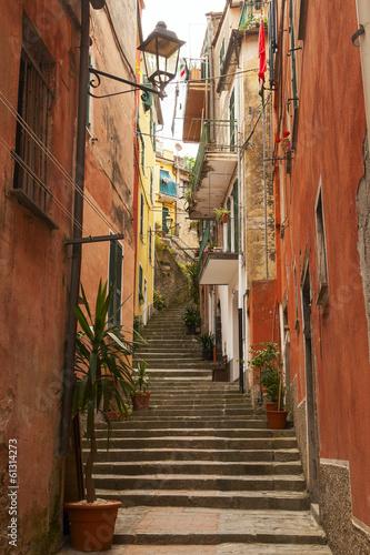Obraz na Szkle narrow stairway