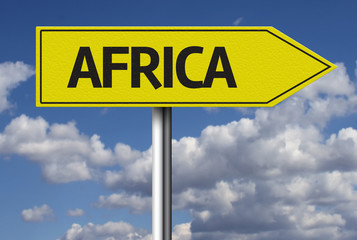 Africa creative sign