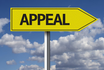 Appeal creative sign
