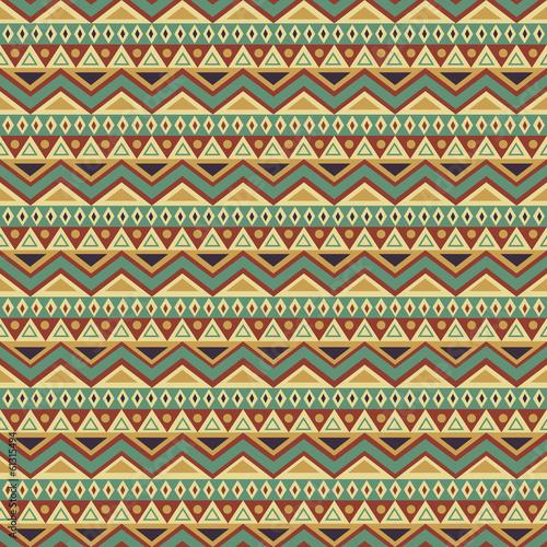 Seamless Ethnic Background - 61315494