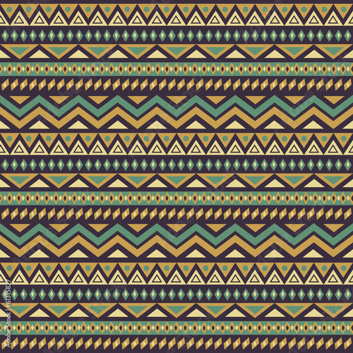 Seamless Ethnic Background - 61315827