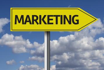 Marketing creative sign