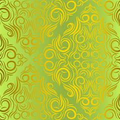 seamless wallpaper.arabesque pattern.floral background