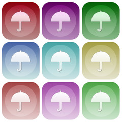 Apps color meteo smoth icon set