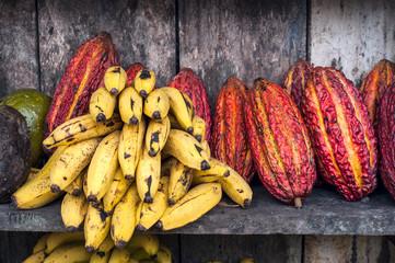 Latin America Fruit street market