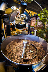machine for roast coffee beans