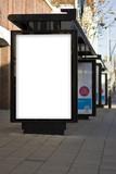 Outdoor Advertising MockUp Template Poster Billboard poster