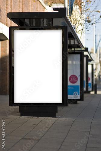 Leinwanddruck Bild Outdoor Advertising MockUp Template Poster Billboard