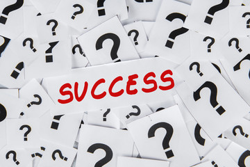 Success and question mark