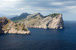 Cape Formentor on Majorca, Balearic island, Spain