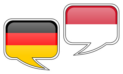 German-Indonesian Conversation