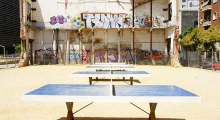Espacio recreativo en Barcelona