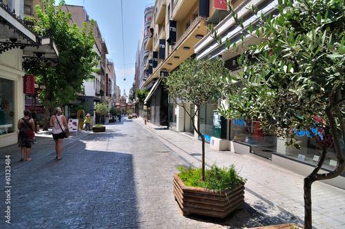 Aluminium Athene Ermou Street (Greek: Ïäüò Åñìïý, Odos Ermou,