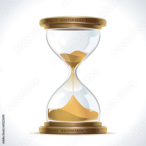 Old Hourglass - 61323699