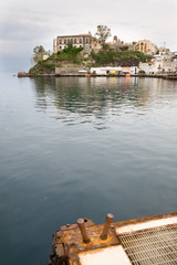 Lipari harbor, Italy