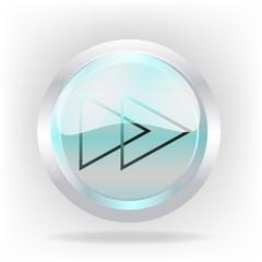 3d rewind cristal icon