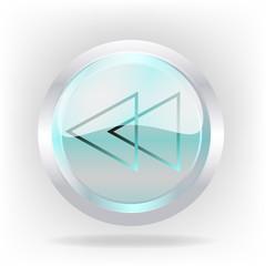 3d reverse cristal  icon