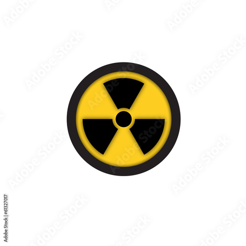 Radiation Hazard Symbol Sign