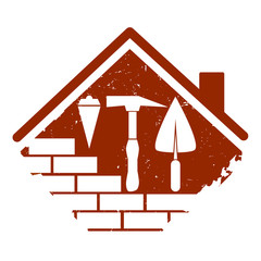 symbol for the construction business, tools