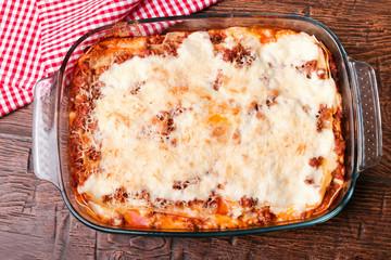 Delisious homemade lasagna