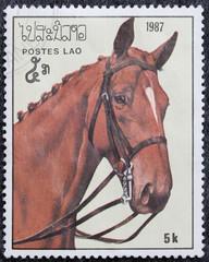 francobollo - Laos
