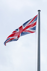 Beautiful view of the Union Jack