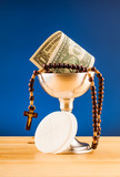 holy communion and money