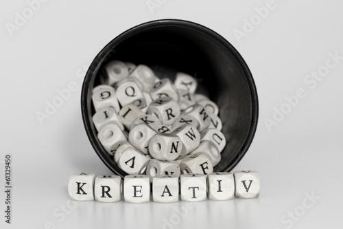 Kreativer Wurf