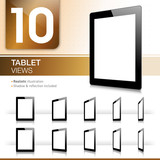 10 Tablet Views - Realistic