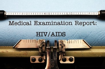 Medical report - HIV AIDS