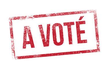 A Voté - tampon