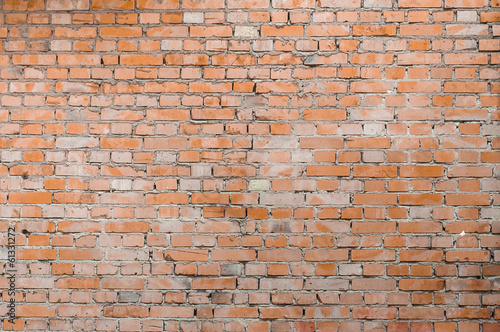Red brick wall for the background image.