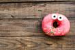 Cute donut on a breakfast - 61331454