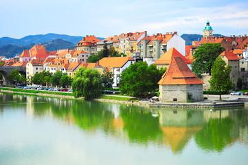 Maribor cityscape